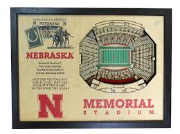 Memorial Stadium Legacy Box Display