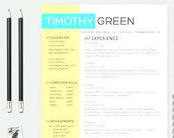 Idea Colorful Resume Template And Colourful Templates Free