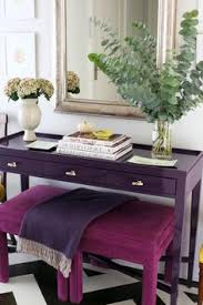 purple foyer with fuchsia stools dark purple furniture p69 purple