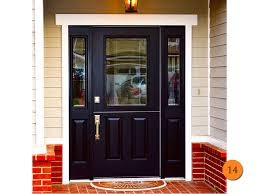 Front Doors front doors with sidelights pics : Black Front Door Small : Black Front Door: Sophisticated and ...