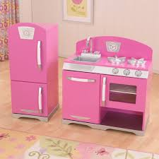 Kid Craft Retro Kitchen Kidkraft 2 Piece Retro Kitchen Bubblegum