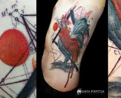 Fire Roosters Year Santa Perpetua Tattoo Artist Wwwsanta Flickr