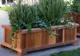 cedar garden box. Patio Garden Box - Cool Wood Country Rectangle Cedar Boise Planter