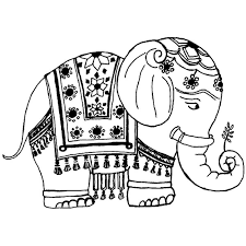 Small Picture Printable Coloring Pages Elephant Coloring Coloring Pages