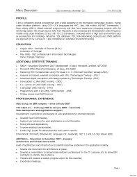 Sample Resume Format Software Engineer Sample Resume Resumes Experienced Vesochieuxo 89