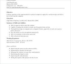 Chronological Resume Example A Chronological Resumes Superintendent
