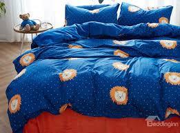 Blue Pattern Duvet Cover Simple Inspiration
