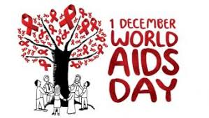 1 December,every year is commemorated to remember the dead  and the ones who survived of HIV/AIDS.