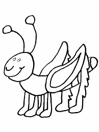 Small Picture Cartoon Insect Coloring Page Free Printable Coloring Pages