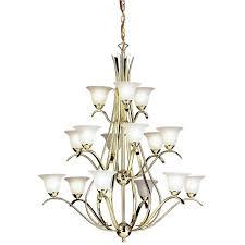 kichler dover 15 light chandelier