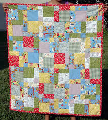 Disappearing Nine Patch, from Sew, Mama, Sew! | Baby Quilt ... & disappearing nine patch quilts Love the simple border Adamdwight.com
