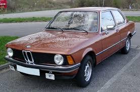 BMW E21 — Wikipédia
