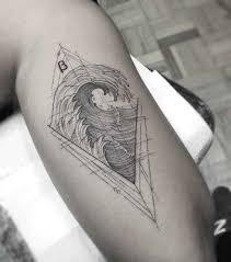 William Marin тонкие минималистичные татуировки