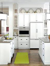 Above Kitchen Cabinet Decorations Interesting Decorating Ideas