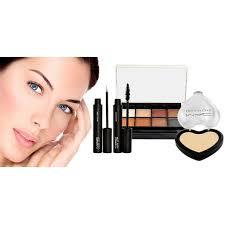 1 mac 4 in 1 makeup kit 8 color eyeshadow palette two way cake powder eyeliner maa in stan hit pk