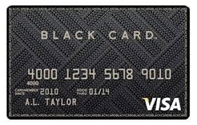 What Is A Black Card Visa Amex Mastercard Requirements 2019