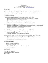 Sample Resume Of Junior Civil Engineer Resume Ixiplay Free