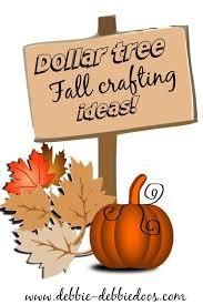 dollar tree fall craft ideas