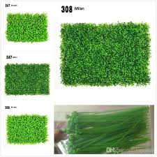 2018 5 models of simulation plant wall milan grass eucalyptus artificial lawn plastic simulation lawn background decorative plant wall from topteam