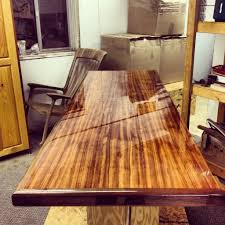 Wood Bar Top Polish Bar Top Epoxy Counter Making A Bar Pinterest Bar Top