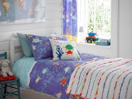 Kids Bedroom Curtain Details About Kids Nautical Seaside Boys Bedding Duvet Cover Set