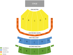 Keller Seating Chart Portland On Your Feet Tickets At Keller Auditorium On October 21 2018 At 6 30 Pm