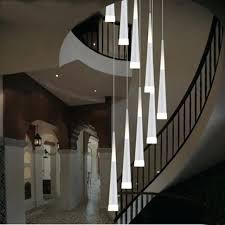 staircase lighting led. Indoor Stair Lights Led Rain Drop Long Spiral Chandelier Staircase Lighting Modern Lamp .