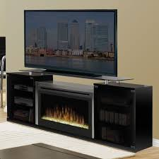 black entertainment center with fireplace dimplex marana electric media console sgfp 500 b 0