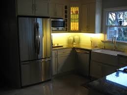 under counter lighting kitchen. LED Lighting Effect Above And Under Cabinet Lights Decoration. Kitchen \u0026 Dining. Corner With Yellow Light Accent Idea. Counter L