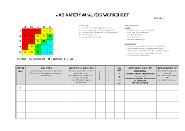 job safety analysis template 50 best of photos job analysis form template beautiful job hazard