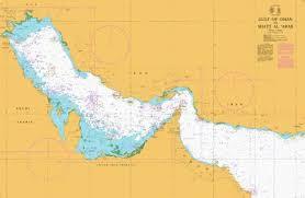 Marine Navigation Charts Uk Gulf Of Oman To Shatt Al Arab Marine Chart Sa_2858_0