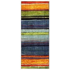 mohawk home rainbow multi 2 ft x 5 ft runner rug