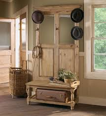 Hall Benches With Coat Hooks Trendy Storage Bench With Mirror Black Hall Bench