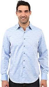 Robert Graham Shirt Size Chart Galleon Robert Graham Mens Cullen Sport Shirt Light Blue