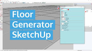 floor generator sketchup wahyues group