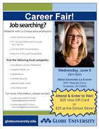 career fair success in 5 tips globe university career fair at globe university 6
