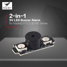 <b>HGLRC</b> 2 in 1 <b>WS2812B</b> 5V <b>LED</b> with Alarm Buzzer Motor base light ...
