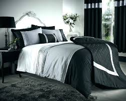 duvet covers 33 neoteric ideas black and white double duvet set silver bedding flock cover gray