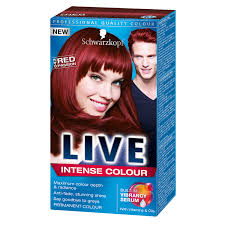 Schwarzkopf Live Hair Intense Colour