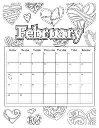Small Picture Download Coloring Pages February Coloring Pages February