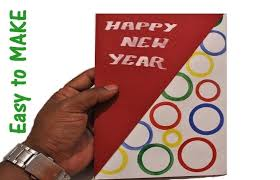 How To Make New Year Greeting Card Designing New Year Greeting