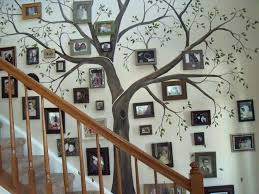 Diy Staircase Family Tree Perfect For Making A House Your Home