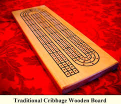 Wooden Peg Board Game How to play card game CribbageRules and Variations GAMBLERS100 33