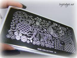 MoYou-London Suki Collection 01 Nail Art Stamping Plate   Brijit's ...
