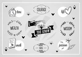 Free Wisdom Words Vector Background Download Free Vector Art