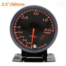 12V Car Boost Gauge <b>2.5</b>''<b>60mm</b> LED Turbo Boost Meter Gauge ...