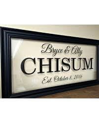 personalized couple couples gift wedding gift last name sign last name wall art engagement gift family on personalized wedding gifts wall art with check out these bargains on personalized couple couples gift wedding