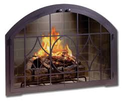 arched glass fireplace doors. Decoration Custom Glass Fireplace Arched Doors L