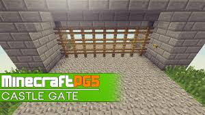 fence minecraft. Tutorial Fast Castle Gate Fence Remake Minecraft 152 Pertaining To Proportions 1920 X 1080 E