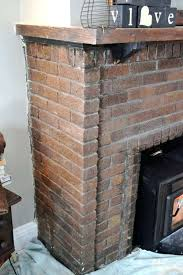 fireplace brick cleaner and fireplace brick cleaner awesome cleaning a brick fireplace for create remarkable brick